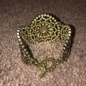 J. Crew Jewelry - Gold Chunky Bracelet
